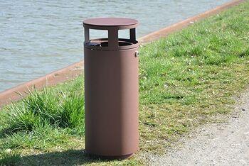 Schnellübersicht Abfallbehälter & Ascher