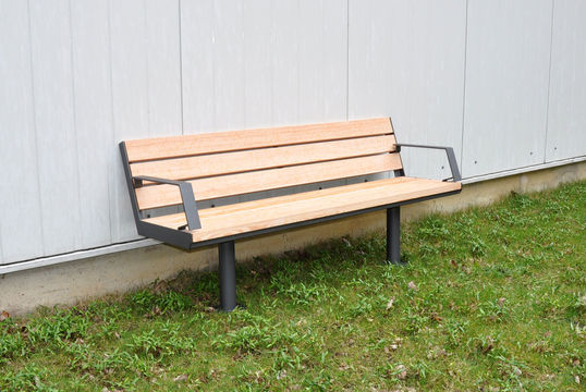 Sitzbank mit Holzauflage Aurich