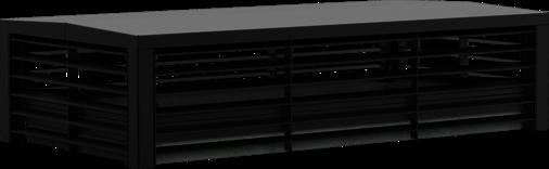 Lüftungshaube Lüftungshaube Airflow 4-seitig offen