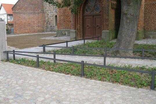 Kirchplatz, Tribsees