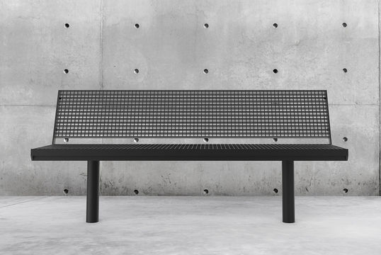 Sitzbank mit Stahlauflage Aurich GB