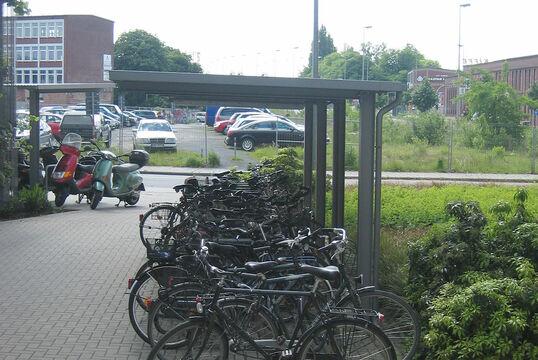 Fahrradunterstand Freiburg