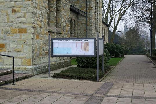 St. Johannes der Täufer & Hauptstraße, Bottrop-Kirchhelle