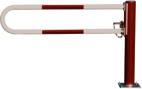 Horizontale Drehschranken WES 115 mit Rohrbügel