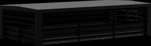 Lüftungshaube Lüftungshaube Airflow 3-seitig offen
