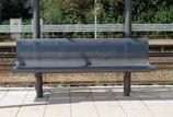 Sitzbank mit Stahlauflage Essen