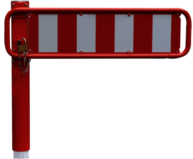 Horizontale Drehschranken WES 435 mit Warnbake