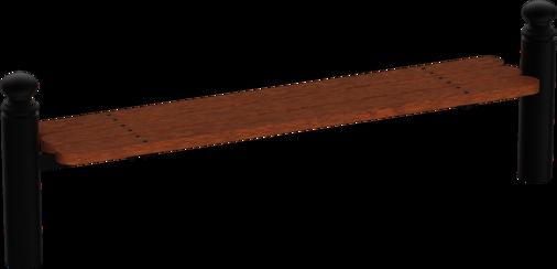 Systembank Holzsitzauflage Typ I
