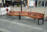 Sitzbank mit Holzauflage Espo