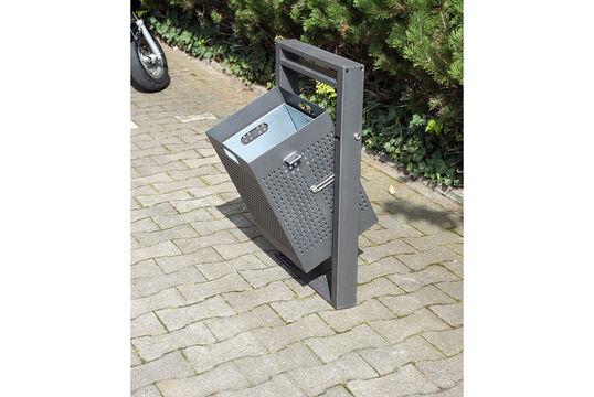 Abfallbehälter Serie 700 eckig
