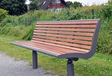 Sitzbank mit Holzauflage Römö PAG