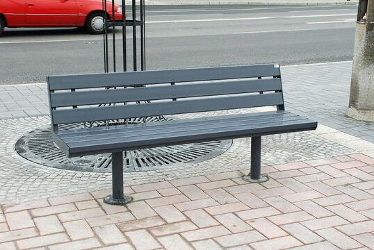 Sitzbank mit Stahlauflage Aurich ST