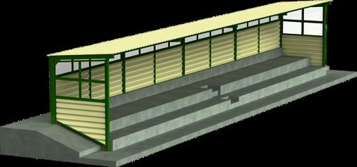 Tribünenüberdachung Albersloh