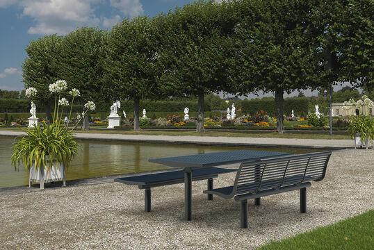 Tisch Römö Langlochblech