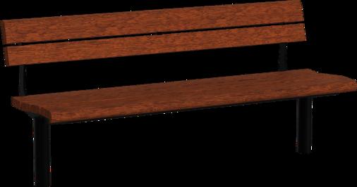 Sitzbank mit Holzauflage Delmenhorst Graft