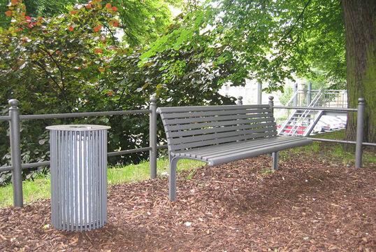Sitzbank mit Stahlauflage Taragona ST