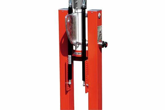 WES 300D Comfort –Gasdruckfeder Comfort-Schranke zum Aufdübeln (feste Auflagestütze)