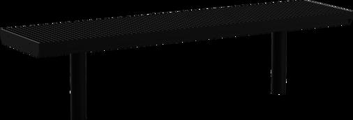 Hockerbank mit Stahlauflage Aurich GB